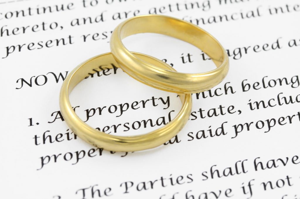 Prenuptial And Postnuptial Agreements In Singapore Uncontested