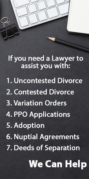 Learn everything about uncontested divorce in singapore singapore divorce lawyer solutioingenieria Choice Image